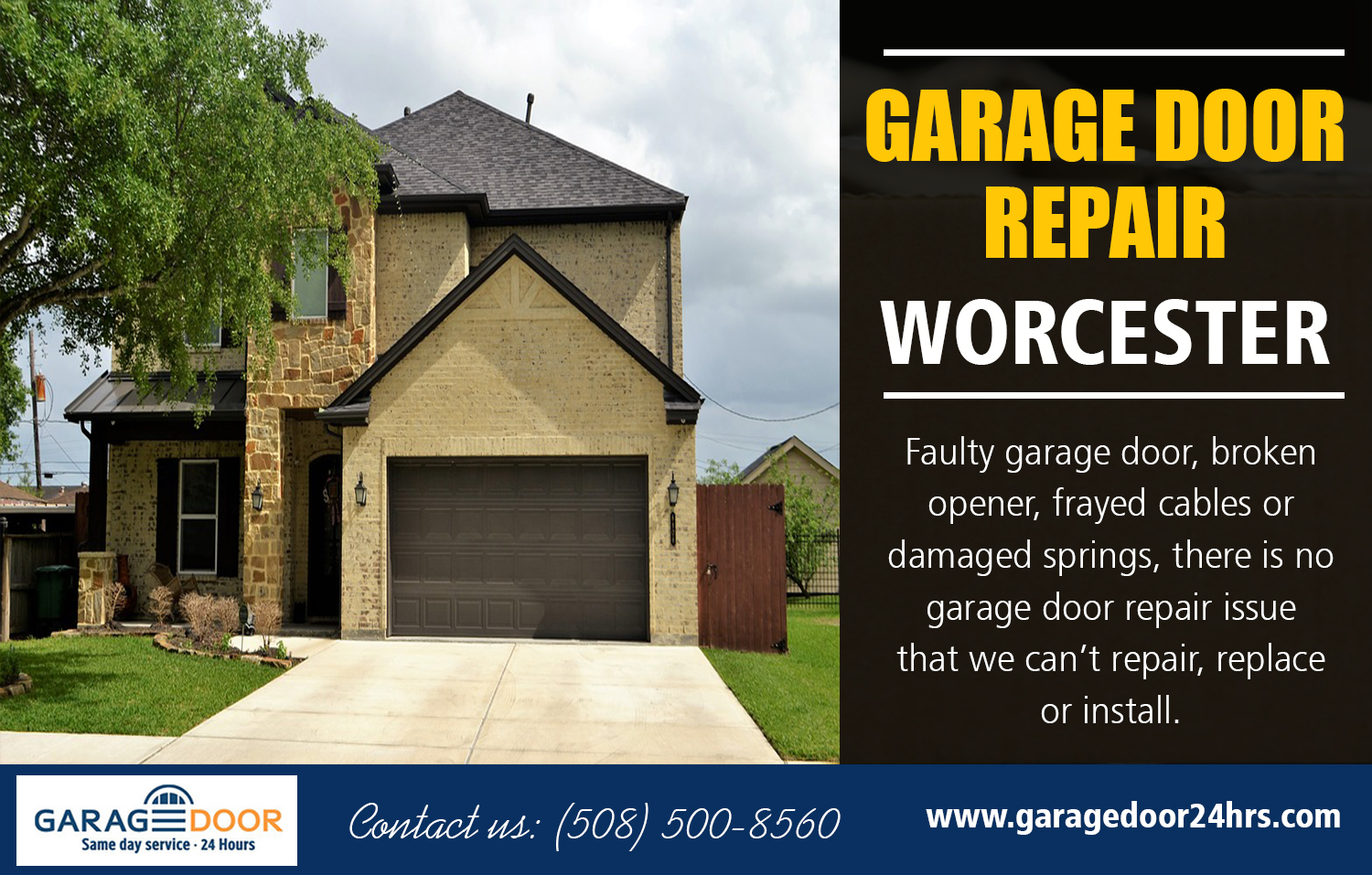 Garage Door Repair Services Near Worcester
